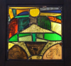 Spirit of Slieve na calliagh – Susan Fitzpatrick – stained glass